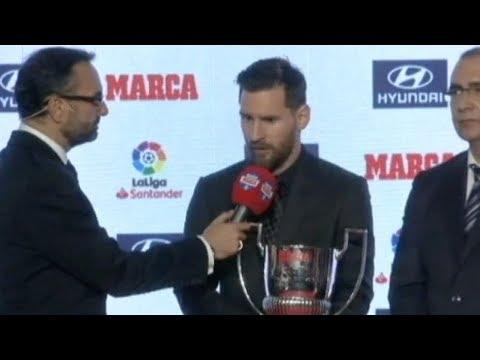 Месси получил награду лучшему игроку чемпионата Испании