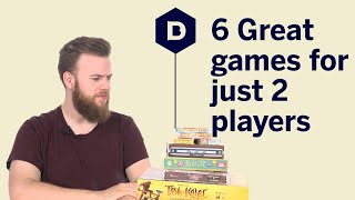 6 Great Board Games For Just 2 Players
