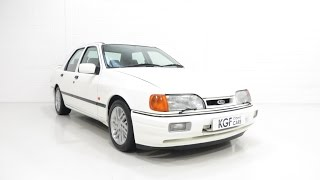 An Outstanding Ford Sierra Sapphire RS Cosworth Preserved Just as Ford Intended - SOLD!