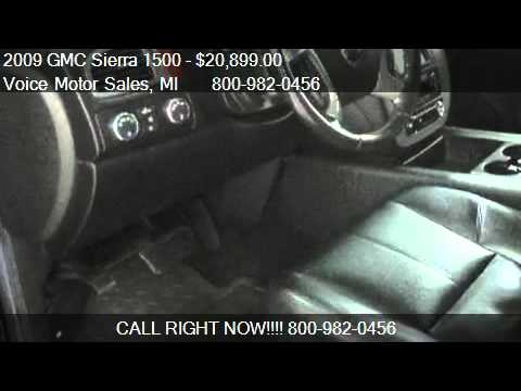 2009 gmc sierra 1500 slt z 71 4x4 crew cab short box for for Voice motors kalkaska michigan