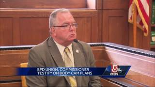 Boston police commissioner, union testify on body cameras