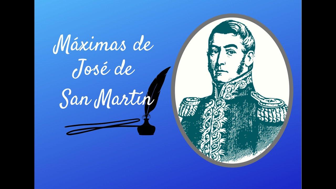 Máximas de José de San Martín