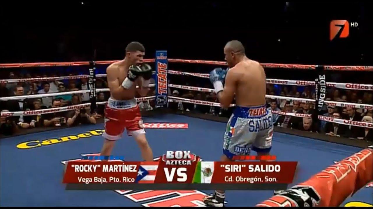 Orlando Salido vs Rocky Martinez Fight Replay | Boxing Video