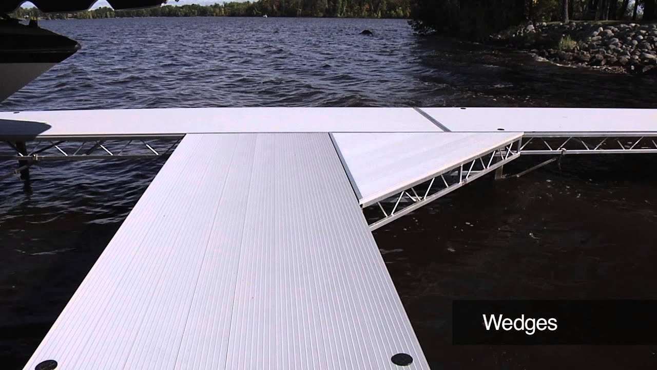 Modular Aluminum Roll-in Docks are Rock Solid and Easy to Install |FLOE