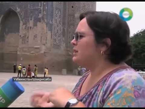 В Шахрисабзе началась реставрация площади перед дворцом Ак Сарай