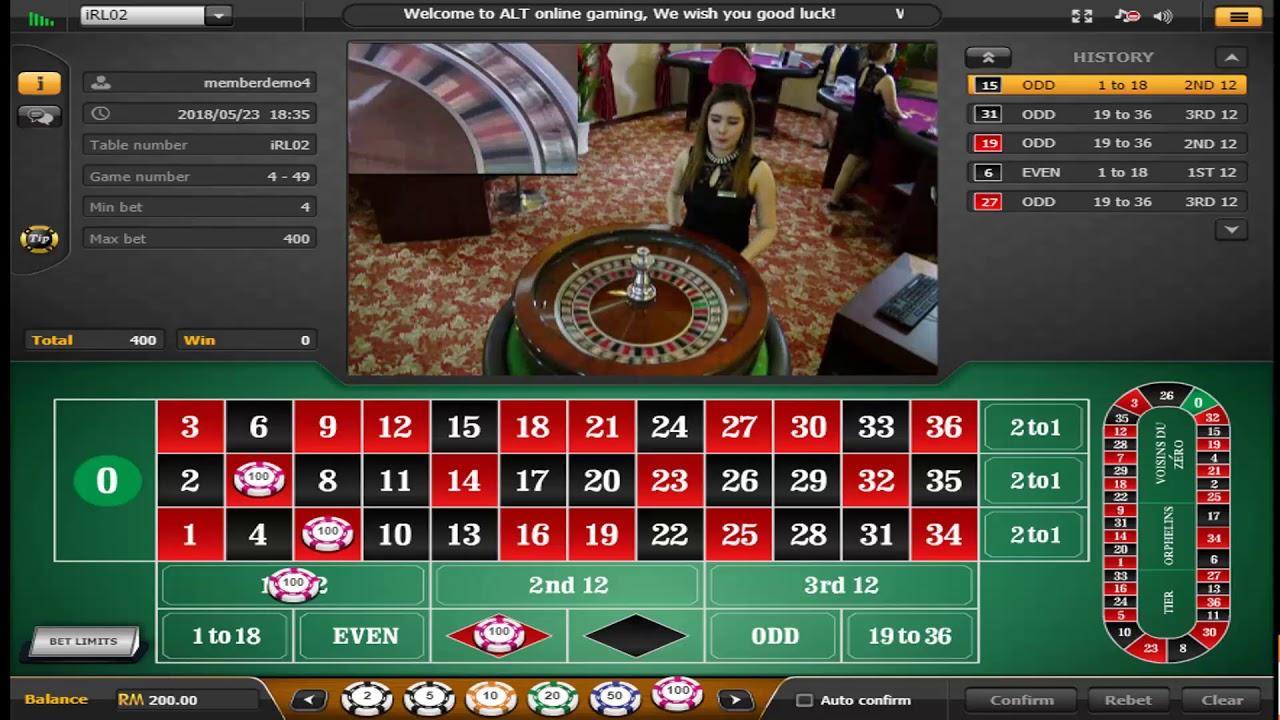 Free Live Roulette Casino