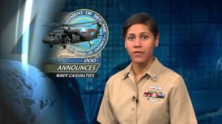 DOD Announces Navy Casualties; USS Winston S. Churchill Assists Panamanian Vessel