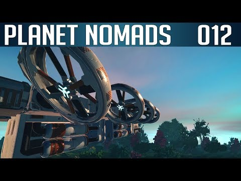 PLANET NOMADS #012 | Der Flug des Phoenix! Endlich fliegen! | Let's Play Gameplay Deutsch