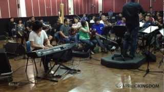 Kevin Aprilio & Twilite Orchestra Rehearsal