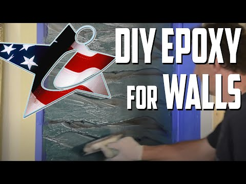 Wallpoxy -Do It Yourself with iCoat Systems