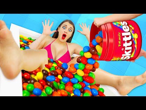 Desafío De Piscina De Skittles Por Multi DO