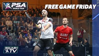 Squash: Gaultier v Rösner - Free Game Friday - Tournament of Champions 2018