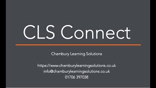 CLS Connect Customer Story - Etex Building Performance Ltd & Totara Learn in 1 minute