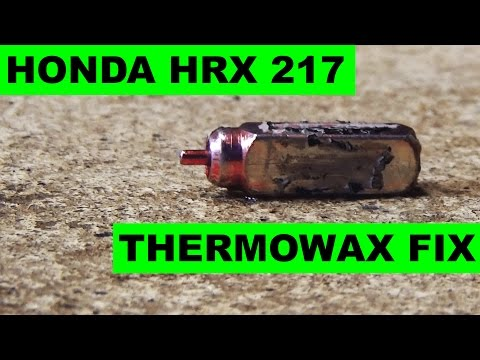 Honda HRX217 Thermowax Choke Actuator Replacement