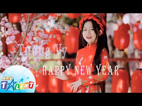HAPPY NEW YEAR ( ABBA)| Covered by TƯỜNG V Y | HTV TALENT OFFICIAL