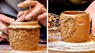 Satisfying Clay Pottery Art That Will Make You Feel Relaxed