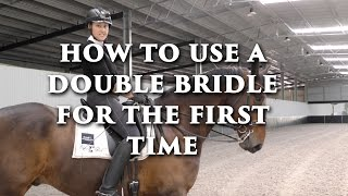 How To Use a Double Bridle for the First Time - Dressage Mastery TV Ep 122