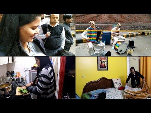 Saturday vlog || Daily Routine and Sarojini Nagar Market visit || Real Indian Home & Kitchen ||