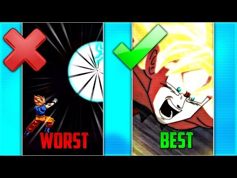 LR SUPER ATTACKS RANKED WORST TO BEST! (Updated) | Dokkan Battle List!