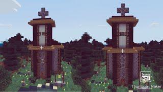 minecraft church easy