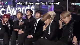 bts at award shows in a nutshell