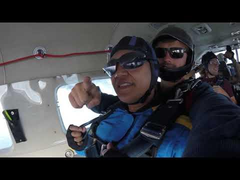 SKYDIVE TORONTO - Edgar F.B. - Stratosphere Tandem Skydive.  Canada, August 2019.