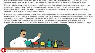 Александр Бородин: химик композитор про которого Дудл от Гугл 12 ноября 2018
