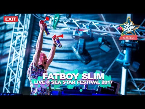 Fatboy Slim Eat Sleep Rave Repeat Live @ Sea Star Festival 2017