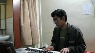 Neele Neele Ambar Par on Yamaha PSR E403 keyboard