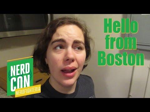 Hello from Boston | NerdCon: Nerdfighteria [CC]