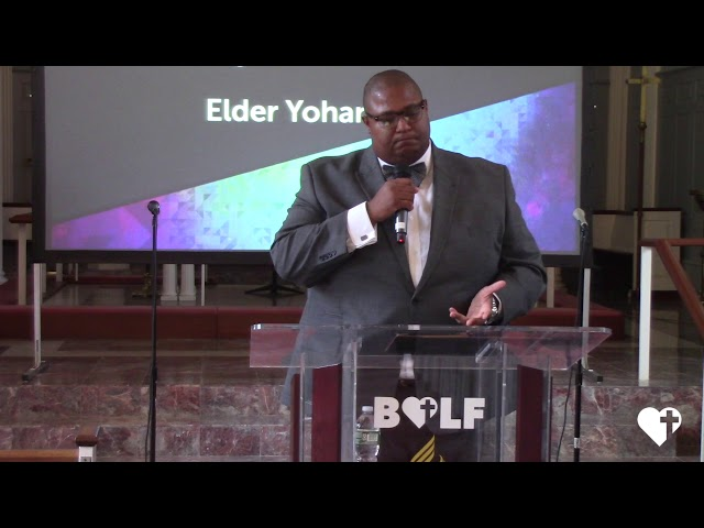 Only Trust Him - Chaplain Yohance Perry