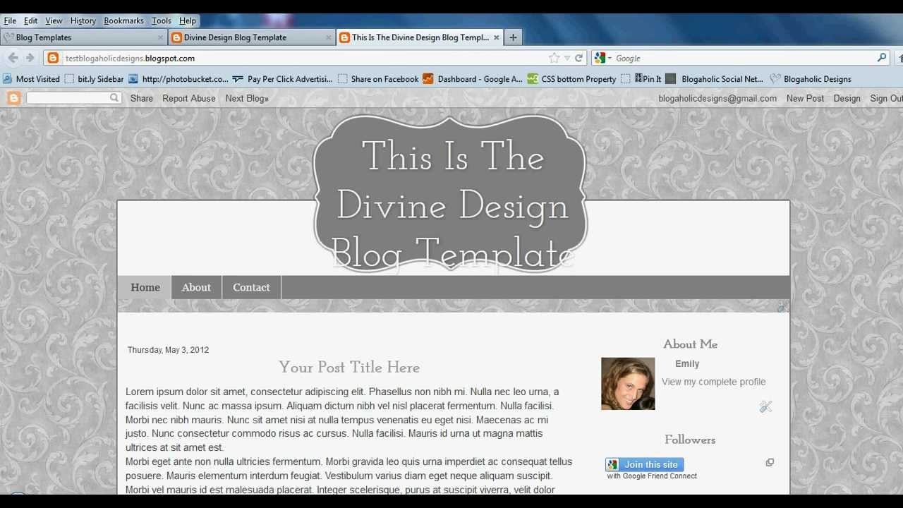 How To Fit Your Title Perfectly Into Header On Blogaholic Premade ...