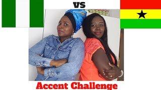NIGERIAN ACCENT vs GHANAIAN ACCENT CHALLENGE plus JOLLOF WAR ft MaryKen TV