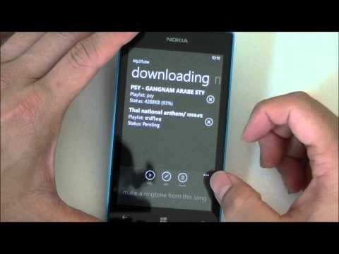 แนะนำการใช้งานพร้อมแอพพลิเคชั่นเด็ด Nokia Lumia 520 ตอนที่ 2 MP3 Tube