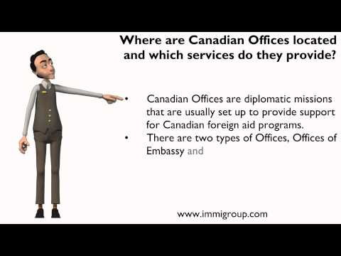 Where are Canadian Offices located and which services do they provide?