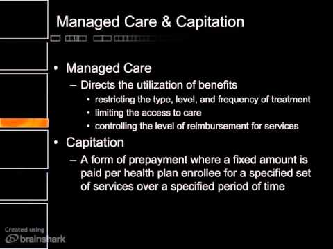 Health care payment systems
