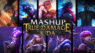 KDA x True Damage - 'GIANTS x POP/STARS' MV MASHUP