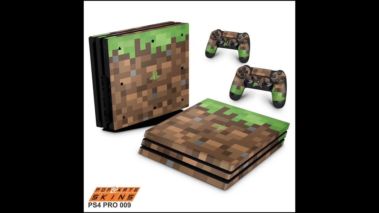 Ps4 Pro Skin Minecraft