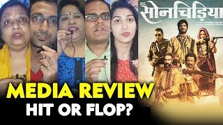 Sonchiriya Public Review | Media Screening | Sushant Singh Rajput, Manoj Bajpayee, Bhumi Pednekar