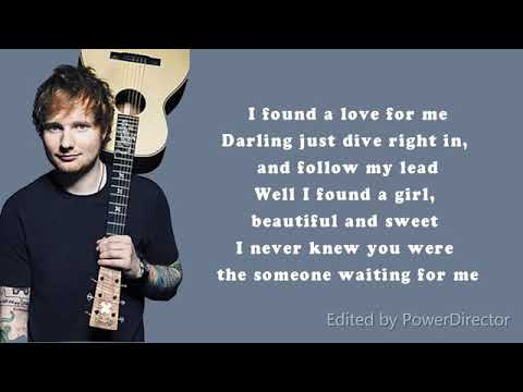 PERFECT Ed Sheeran [lyric].mp4