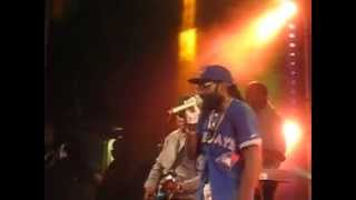 Tarrus Riley & Blak Soil Band-Medley 2 Live@Öland Roots 2015-07-09
