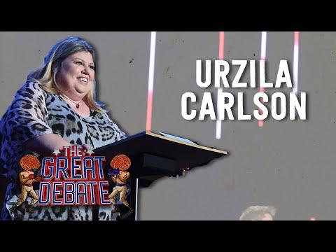 Urzila Carlson (Affirmative) 2nd Speaker - The 29th Annual Great Debate 2018
