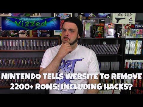 Nintendo Tells Website to Remove 2200+ Roms; Including Hacks? | RGT 85