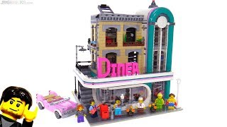 Baixar LEGO Downtown Diner modular building review! 10260