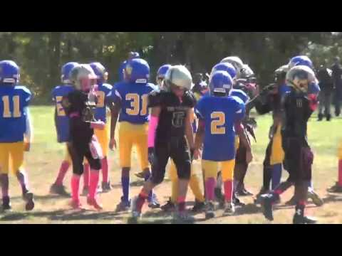 10 11 2015 Montgomery Village Sports Association Chiefs Mighty Mites Green vs Wo