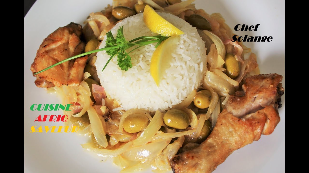 Poulet yassa cuisine africaine youtube for Cuisine africaine
