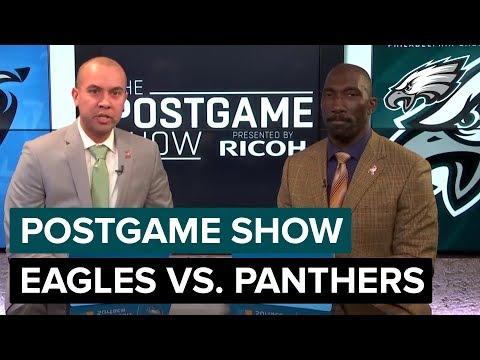 Philadelphia Eagles vs Carolina Panthers Postgame Show  2018 Week 7