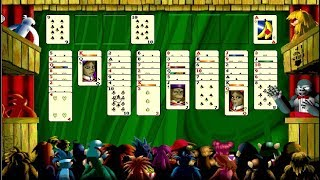 Burning Monkey Solitaire II (Macintosh game 1999)
