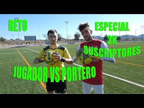 [RETO] - PORTERO VS JUGADOR - ESPECIAL 2K - CHALLENGE #1 - Ryutron