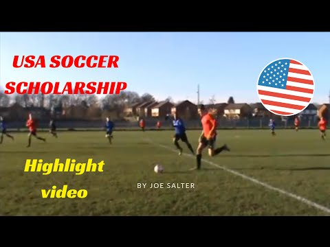 Joe Salter USA Scholarship Video